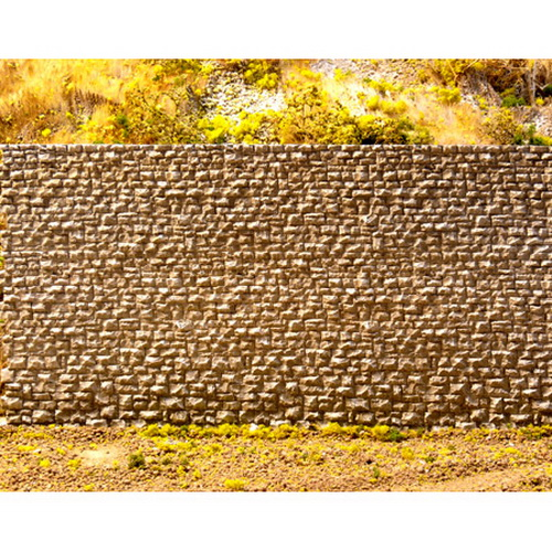 Chooch Enterprises 8300 HO Random Stone Retaining Wall Small