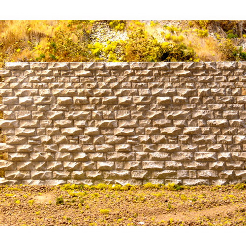 Chooch Enterprises 8312 HO Cut Stone Retaining Wall Medium