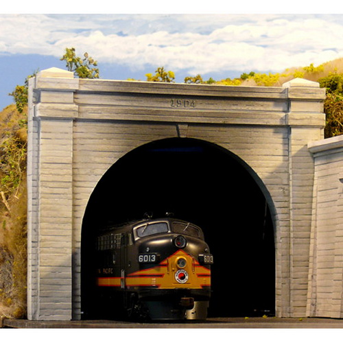 Chooch Enterprises 8330 HO Double Concrete Tunnel Portal