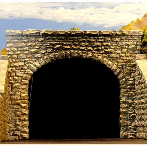 Chooch Enterprises 9770 HO Double Track Random Stone Tunnel Portal 2-P