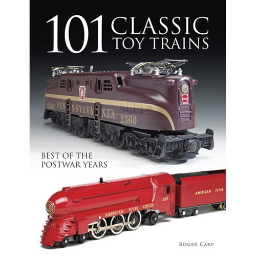 Kalmbach 64100 101 Classic Toy Trains Based on the popular Collectible Classics column from Classic Toy Trains magazine, this book surveys the most collectible toy train accessories, locomotives, and rolling stock. This book is very helpful to those who have found an old train collection and are looking for the value of it, or for those who just want a better idea of what they should buy next for their layout.Condition: Factory NewOperational Status: FunctionalThis item is brand new from the factory.Original Box: YesManufacturer: KalmbachModel Number: 64100MSRP: $24.95Category 1: Books and MediaCategory 2: O Scale Books & MediaAvailability: Ships in 3 to 5 Business Days.The Trainz SKU for this item is P11571329. Track: 11571329 - FS - 001 - TrainzAuctionGroup00UNK - TDIDUNK