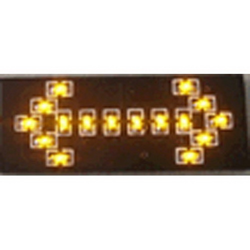 Miniatronics 100-726-04 Double Flashing Arrow 4/