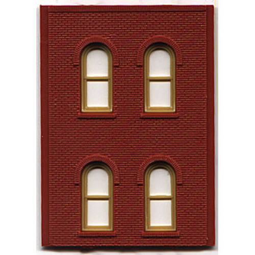 DPM 30108 HO Two-Story Wall Sections w/4 Arched Windows Kit This is a DPM 30108 HO Two-Story Wall Sections w/4 Arched Windows Kit. Build anything from a corner gas station to a multi-story office or manufacturing complex. HO scale modular parts offer unliimted building options. Interchangeable wall sections make it fun and easy to build a structure of any size, shape and height, that will fit anywhere on your layout.Condition: Factory New (C-9All original; unused; factory rubs and evidence of handling, shipping and factory test run.Standards for all toy train related accessory items apply to the visual appearance of the item and do not consider the operating functionality of the equipment.Condition and Grading Standards are subjective, at best, and are intended to act as a guide. )Operational Status: FunctionalThis item is brand new from the factory.Original Box: Yes (P-9May have store stamps and price tags. Has inner liners.)Manufacturer: DPMModel Number: 30108MSRP: $9.99Scale/Era: HO ModernModel Type: BuildingsAvailability: Ships in 3 to 5 Business Days.The Trainz SKU for this item is P11475940. Track: 11475940 - FS - 001 - TrainzAuctionGroup00UNK - TDIDUNK