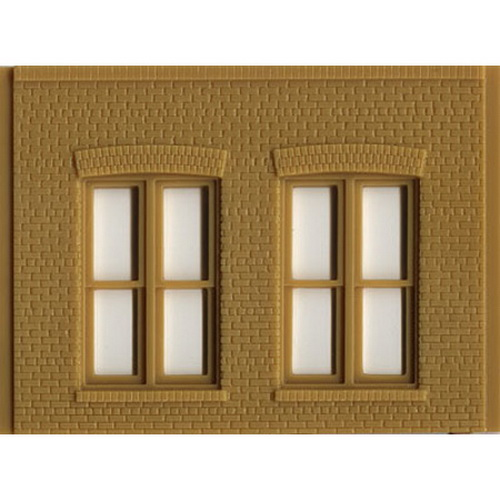 DPM 90106 O Double Rectangular Windows This is a DPM 90106 O Double Rectangular Windows. Build anything from a corner gas station to a multi-story office or manufacturing complex. HO scale modular parts offer unliimted building options. Interchangeable wall sections make it fun and easy to build a structure of any size, shape and height, that will fit anywhere on your layout.Condition: Factory New (C-9All original; unused; factory rubs and evidence of handling, shipping and factory test run.Standards for all toy train related accessory items apply to the visual appearance of the item and do not consider the operating functionality of the equipment.Condition and Grading Standards are subjective, at best, and are intended to act as a guide. )Operational Status: FunctionalThis item is brand new from the factory.Original Box: Yes (P-9May have store stamps and price tags. Has inner liners.)Manufacturer: DPMModel Number: 90106MSRP: $10.00Scale/Era: O ModernModel Type: Accessories & BuildingsAvailability: Ships in 3 to 5 Business Days.The Trainz SKU for this item is P11476049. Track: 11476049 - FS - 001 - TrainzAuctionGroup00UNK - TDIDUNK
