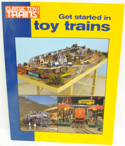 Kalmbach 10-8360 Get Started with Toy Trains Welcome to the hobby of toy trains! Inside this book are 10 tips to a better layout, choosing a track system, tubular track tips, designing for operation, two-train wiring, simple, no-fuss scenery, and old dog, new tracks!Condition: Factory NewOperational Status: FunctionalThis item is brand new from the factory.Original Box: YesManufacturer: KalmbachModel Number: 10-8360Years Manufactured: 2006 - 2006MSRP: $7.95Category 1: Books and MediaCategory 2: O Scale Books & MediaAvailability: Ships in 3 to 5 Business Days.The Trainz SKU for this item is P11389884. Track: 11389884 - FS - 001 - TrainzAuctionGroup00UNK - TDIDUNK