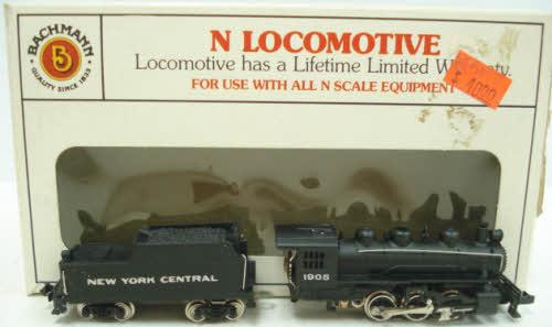 Bachmann 51570 N Scale NYC Prairie 2-6-2 Steam Locomotive at Sears.com