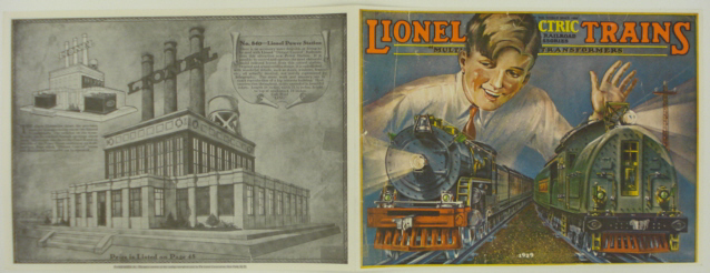 Lionel 1929 Matte Finish Art Print Catalog Cover Here is an art print of the front and back cover of the 1929 Lionel Trains catalog. This print measures 22 3/4  x 8 1/4  when completely unfolded. This is a full color front cover, with black and white pages. This would be perfect for framing and adding to your train room!Condition: Factory NewOperational Status: FunctionalThis item is brand new from the factory.Original Box: YesManufacturer: LionelModel Number: 1929Category 1: Books and MediaCategory 2: CatalogsAvailability: Ships in 1 Business Day!The Trainz SKU for this item is P11444728. Track: 11444728 - S98 (Shelf)  - 001 - TrainzAuctionGroup00UNK - TDIDUNK