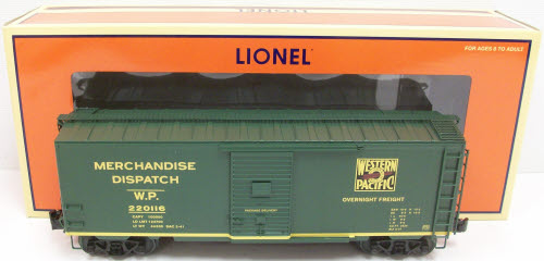 Lionel Trains Lionel 6-27251 Western Pacific Express Boxcar at Sears.com