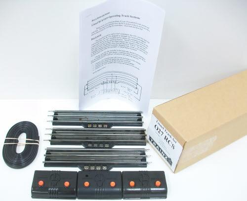 lionel rcs o27 gauge remote control tracks 3 ebay. Black Bedroom Furniture Sets. Home Design Ideas