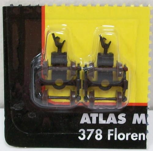 Atlas 22056 N Scale 70T Roller Bearing Trucks (2)