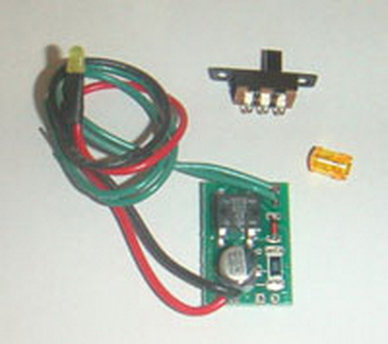 Miniatronics 100-001-01 Roof Top Beacon Amber Use this flasher on top of your diesel, roadway warning lights, tower signals, emergency vehicles, etc. The amber L.E.D. (3mm) mimics a real flashing light. If you choose to use this product as a rooftop beacon, we have included a lens cap that will diffuse the light. Simply drill an 11/64 hole, the lens cap will snap into the hole, and the L.E.D. will snap into the lens. This will operate efficiently on just about any power source you may have. Run them off your tracks or any external power from 9-14 Volts AC or DC.Condition: Factory New (C-9All original; unused; factory rubs and evidence of handling, shipping and factory test run.Standards for all toy train related accessory items apply to the visual appearance of the item and do not consider the operating functionality of the equipment.Condition and Grading Standards are subjective, at best, and are intended to act as a guide. )Operational Status: FunctionalThis item is brand new from the factory.Original Box: Yes (P-9May have store stamps and price tags. Has inner liners.)Manufacturer: MiniatronicsModel Number: 100-001-01MSRP: $14.95Scale/Era: O ModernModel Type: Electronics & WiringAvailability: Ships in 3 to 5 Business Days.The Trainz SKU for this item is P11504818. Track: 11504818 - FS - 001 - TrainzAuctionGroup00UNK - TDIDUNK