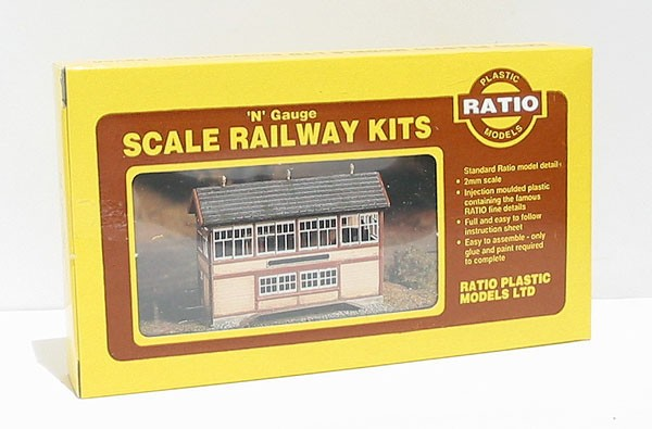 Ratio 223 N Scale GWR Wooden Signal Box