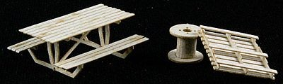 GCLaser 116019 Pallets, Cable Reels, & Table Laser Cut Plywood Kit
