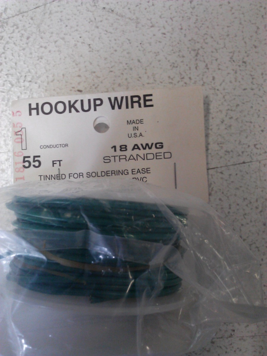 Wire Works 118160555 1c Wire 18 gauge 55' grn This is Wire Works 118160555 1c Wire 18 gauge 55' green.Condition: Factory New (C-9All original; unused; factory rubs and evidence of handling, shipping and factory test run.Standards for all toy train related accessory items apply to the visual appearance of the item and do not consider the operating functionality of the equipment.Condition and Grading Standards are subjective, at best, and are intended to act as a guide. )Operational Status: FunctionalThis item is brand new from the factory.Original Box: Yes (P-9May have store stamps and price tags. Has inner liners.)Manufacturer: Wire WorksModel Number: 118160555MSRP: $11.00Scale/Era: O ModernModel Type: Electronics & WiringAvailability: Ships within 3 Business Days!The Trainz SKU for this item is P11548089. Track: 11548089 - 1017-F (Suite 2740-200)  - 001 - TrainzAuctionGroup00UNK - TDIDUNK