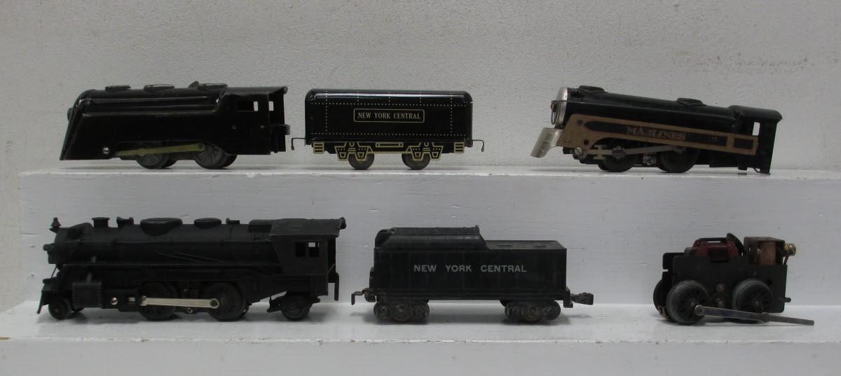 Marx O Gauge Steam Locomotives Tenders Motor 6 Ebay