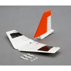 E-flite M4360A Tail Set with Accessories: UMX Habu S This is an E-flite M4360A Tail Set with Accessories: UMX Habu S. Key Features:Ideal for giant-scale airplanes requiring up to 6000 watts of input powerHigh-torque alternative to inrunner brushless motorsDesigned in collaboration with World Aerobatic Champion Quique SomenziniEquivalent to a 50cc–60cc gas engineFor high-power airplanes weighing 15 to 25 pounds (6.8 to 11.0 kilograms)External rotor design for better coolingIncludes 4-bolt propeller mount, 12mm prop shaft center-tapped with 10–32 threadsHigh-quality construction with ball bearings and hardened 10mm steel shaftIncludes X-mount and 6.5mm gold bullet connectorsSlotted 14-pole outrunner designRequires 160A–200A HV brushless ESCOverview:Peace of mind is priceless and modelers who value it most choose E-flite® brushless motors. Just ask anyone who's flown with them. E-flite brushless motors consistently provide the kind of power and reliability that transform a modeling experience—no matter what you're flying. Whether you're a sport modeler or scale master, E-flite has the brushless power system to truly realize your plane's full potential. The E-flite Power 360 brushless electric motor is designed to deliver clean and quiet power equivalent to or surpassing the power of a 360-size 2-stroke glow engine for sport and scale airplanes weighing 15 to 40 pounds (6.8 to 11.0 kg), 3D airplanes up to 25 pounds (8.28 kg), or models requiring up to 6000 watts of power.Product Specifications:Type: Brushless OutrunnerSize: Power 360Wire Gauge: 13 AWG# of Turns/Windings: 8mm bulletRecommended Prop Range: 24 x 10 to 25 x 12Voltage: 44.4VRPM/Volt (Kv): 180KvResistance (Ri): 0.0019?Idle Current (Io): 6.1A @ 40.0VContinuous Current: 130AMaximum Burst Current: 150ACells: 12S LiPoSpeed Control: 160A+ BrushlessWeight: 44 oz (1240 g)Overall Diameter: 3.45 in (90mm)Shaft Diameter: 0.39 in (10mm)Shaft Length: 1.25 in (32mm)OveraCondition: Factory NewOperational Sta