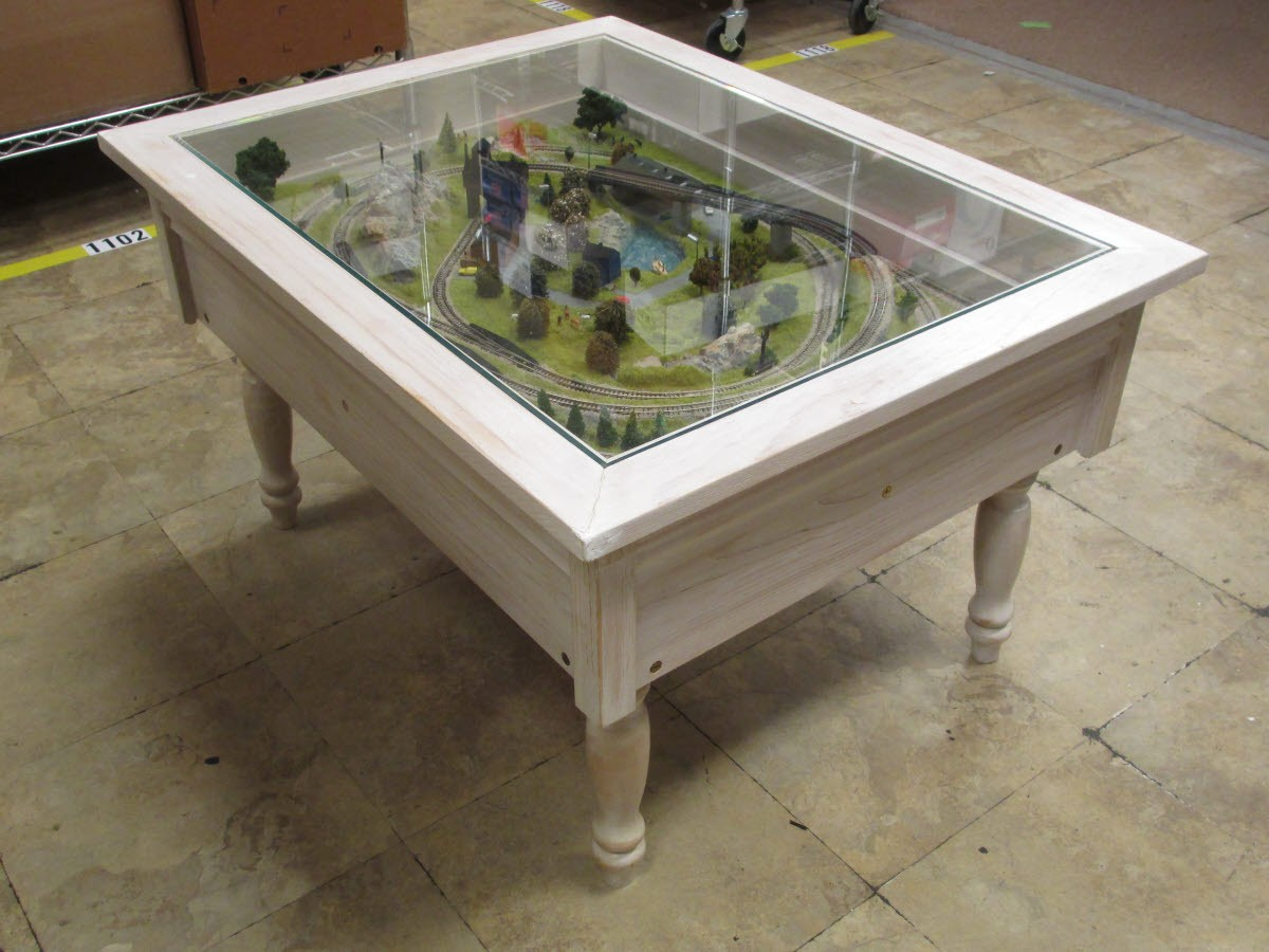 Marklin Z Scale Custom Coffee Table With Layout 33 X 26 X 19 Ex Ebay