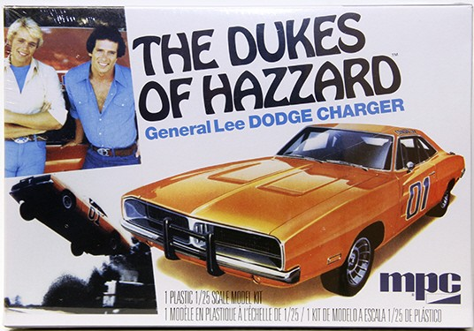 MPC 706 1:25 General Lee 1969 Dodge Charger - Plastic Model Kit, Skill General Lee 1969 Dodge Charger - Plastic Model Kit, Skill Level 2 It's those Duke Boys (and their lovely cousin, Daisy), back with re-releases of popular vehicles from the classic television show! This is the updated current kit without the flag decal for the roof of the car.Condition: Factory NewOperational Status: FunctionalThis item is brand new from the factory.Original Box: YesManufacturer: MPCModel Number: 706MSRP: $25.95Category 1: Model KitsCategory 2: 1:24 ScaleAvailability: Ships in 3 to 5 Business Days.The Trainz SKU for this item is P12044524. Track: 12044524 - FS - 001 - TrainzAuctionGroup00UNK - TDIDUNK