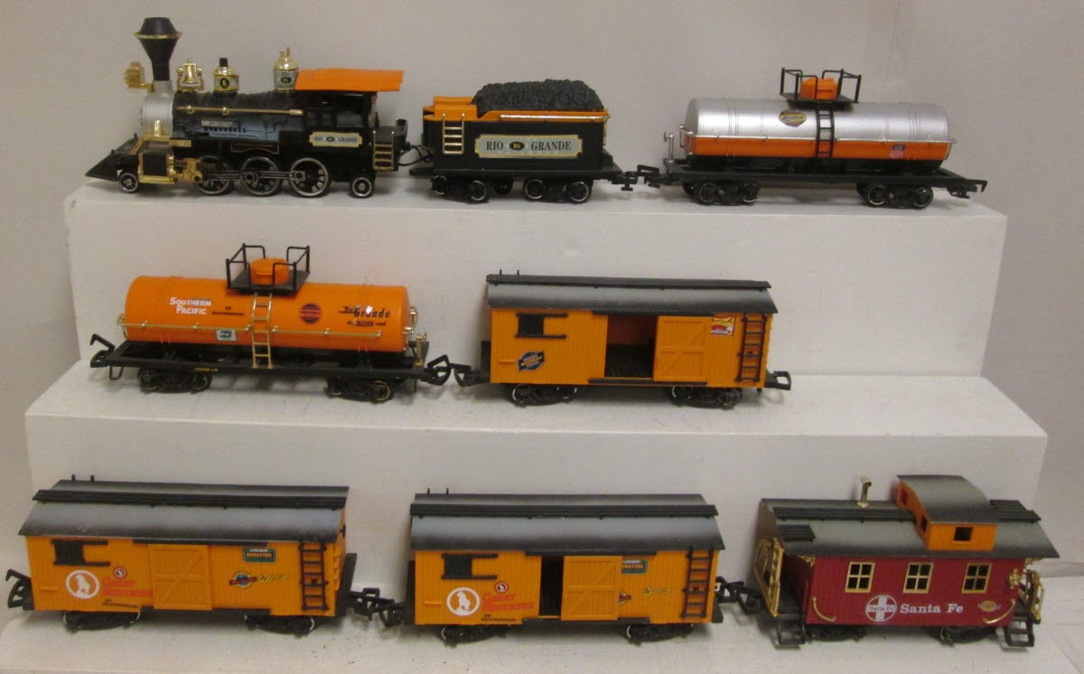 Rail Cars For New Bright G Scale Trains