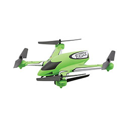 Blade 7380T2 Zeyrok Bind-N-Fly Green This is a Blade Helis 7380T2 Zeyrok BNF Green. Key FeaturesFully assembled, no building necessarySAFE® technology makes flying simpleIncredibly durable, lightweight unibody airframeAvailable in brilliant yellow or vibrant green color schemesOptional remote control 720p/1.3MP cameraMaintenance free enclosed rotor drive systemLarge 750mAh 1S Li-Po flight battery and convenient USB chargerBrilliant LED orientation lights with status indicationRemovable skids with integrated camera podOptional removable 4GB Micro SD memory cardCondition: Factory NewOperational Status: FunctionalThis item is brand new from the factory.Original Box: YesManufacturer: BladeModel Number: 7380T2MSRP: $89.99Category 1: Other ToysCategory 2: Radio Control ToysAvailability: Ships in 3 to 5 Business Days.The Trainz SKU for this item is P12186045. Track: 12186045 - FS - 001 - TrainzAuctionGroup00UNK - TDIDUNK