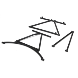 Losi 251004 Front & Rear Cage Supports,Roof Cross Bar:MINI WRC