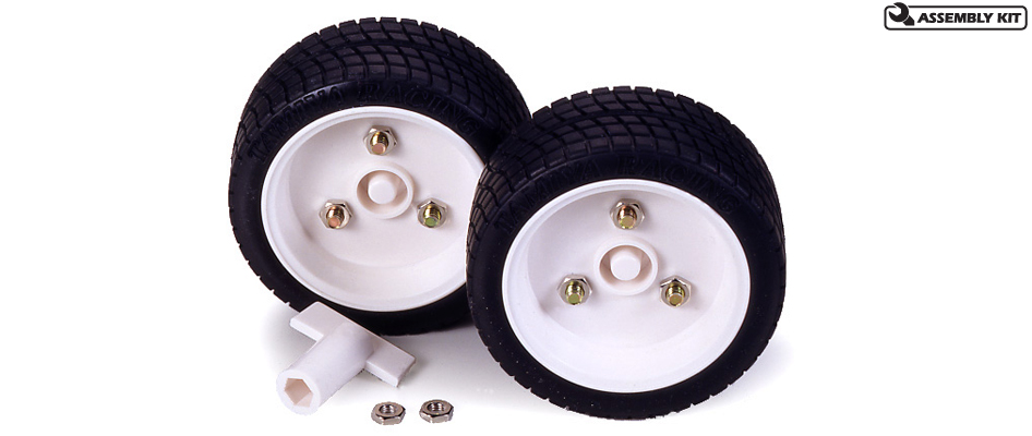 Tamiya 70111 SPORTS TIRE SET 1pr This is a Tamiya 70111 Sports Tire Set - 56mm Diameter - 1 Pair. Features: The Sports Tire Set is a good all-around tire. Two sets of hubs have been included with a wrench to change the hubs (also included). One set of hubs is for hex shafts like those on many of Tamiya's gear boxes, and the other set of hubs is for round shaft applications.Condition: Factory NewOperational Status: FunctionalThis item is brand new from the factory.Original Box: YesManufacturer: TamiyaModel Number: 70111MSRP: $8.75Category 1: Other ToysCategory 2: Radio Control ToysAvailability: Ships in 3 to 5 Business Days.The Trainz SKU for this item is P12147519. Track: 12147519 - FS - 001 - TrainzAuctionGroup00UNK - TDIDUNK
