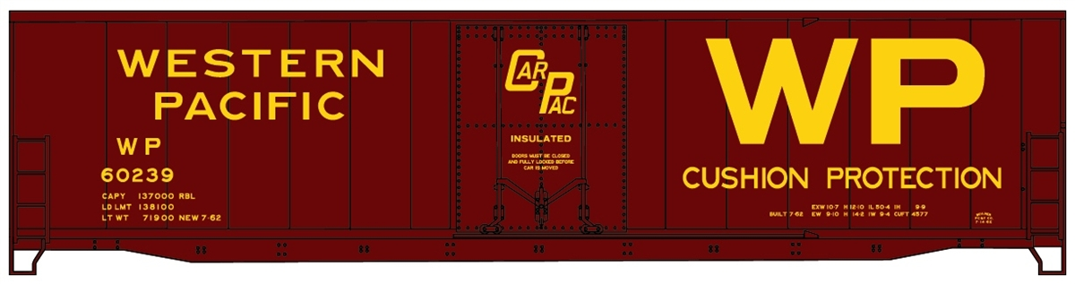 Accurail 5818 HO KIT 50' Plug Door Welded Box,  WP at Sears.com