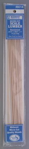 Midwest Products 8018 Wood .0416x.0833x11 15/ at Sears.com