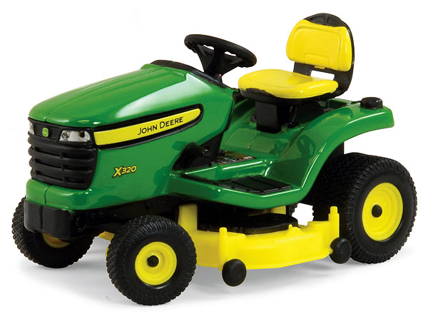 Ertl 45484 1:16 John Deere X320 Lawn Mower John Deere X320 Lawn MowerCondition: Factory NewOperational Status: FunctionalThis item is brand new from the factory.Original Box: YesManufacturer: ErtlModel Number: 45484MSRP: $17.11Category 1: 1:18 ScaleCategory 2: FarmingAvailability: Ships in 3 to 5 Business Days.The Trainz SKU for this item is P12024092. Track: 12024092 - FS - 001 - TrainzAuctionGroup00UNK - TDIDUNK