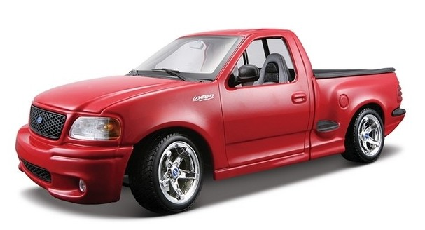 maisto 31141red 1 21ford svt f150 lightning pickup truck w surfboards red. Black Bedroom Furniture Sets. Home Design Ideas