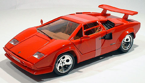 bburago 12027r 1 18 lamborghini countach 5000 quattrov ebay. Black Bedroom Furniture Sets. Home Design Ideas