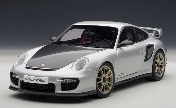 autoart 77961 1 18 porsche 911 997 gt2 rs 2010 silver ebay. Black Bedroom Furniture Sets. Home Design Ideas