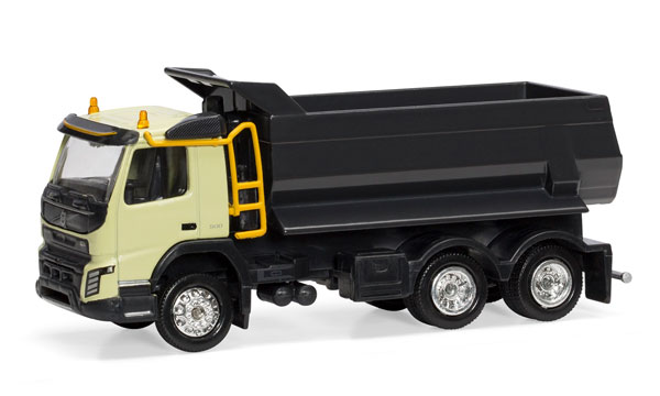 Motorart 300041 1:50 Volvo FMX 6x4 Dump Truck This is a Motorart 300041 1:50 Scale Volvo FMX 6x4 Dump Truck. The Volvo FMX 6x4 tipper in 1:50 scale is now available in stock. A detailed model, with movements exactly as the real machine, such as: Realistic hydraulic container Tiltable cabin Detailed interior that features operator chair, controls and steering wheel Chrome colored rims and rubber wheels Painted engine.Condition: Factory NewOperational Status: FunctionalThis item is brand new from the factory.Original Box: YesManufacturer: MotorartModel Number: 300041MSRP: $124.99Category 1: 1:64 ScaleCategory 2: ConstructionAvailability: Ships in 3 to 5 Business Days.The Trainz SKU for this item is P12022452. Track: 12022452 - FS - 001 - TrainzAuctionGroup00UNK - TDIDUNK