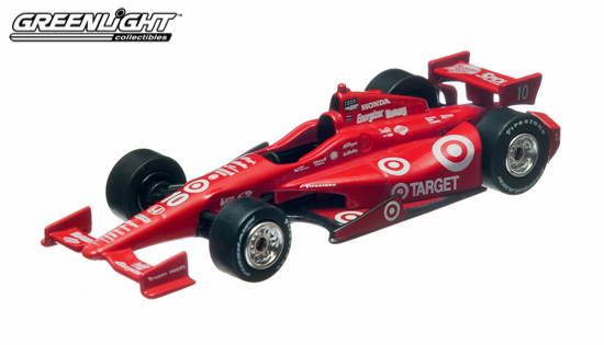 Greenlight Collectibles 10705 1:64 '12 FRANCHITTI INDY This is Greenlight Collectibles 10705 1:64 '12 Franchitti Indy. Dario Franchitti - Target Chip Ganassi Racing. GreenLight Collectibles is once again first-to-market in time for the Indianapolis 500. They have a wide selection of drivers and teams to choose from*, including Target Chip Ganassi Racing drivers Dario Franchitti and Scott Dixon, Team Penske Drivers Will Power and Helio Castroneves, Andretti Autosport's Marco Andretti, James Hinchcliffe and last years Series Champion Ryan Hunter-Reay and many more!Condition: Factory NewOperational Status: FunctionalThis item is brand new from the factory.Original Box: YesManufacturer: Greenlight CollectiblesModel Number: 10705MSRP: $8.99Category 1: 1:64 ScaleCategory 2: RacingAvailability: Ships in 3 to 5 Business Days.The Trainz SKU for this item is P11725169. Track: 11725169 - FS - 001 - TrainzAuctionGroup00UNK - TDIDUNK