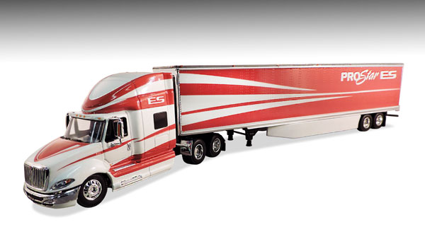DCP 33471 Navistar International ProStar ES This is a Die Cast Promotions 33471 1:64 Scale Navistar International ProStar ES with Skirted Dry Van Trailer - Level 2 Detail.Condition: Factory NewOperational Status: FunctionalThis item is brand new from the factory.Original Box: YesManufacturer: Die Cast PromotionsModel Number: 33471MSRP: $74.99Category 1: 1:64 ScaleCategory 2: TruckingAvailability: Ships in 3 to 5 Business Days.The Trainz SKU for this item is P12108648. Track: 12108648 - FS - 001 - TrainzAuctionGroup00UNK - TDIDUNK