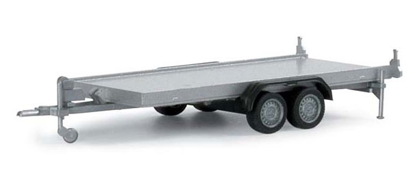 Herpa 052450 1:87 2-Axle Trailer For Cars and Pick-Ups
