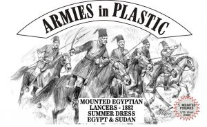 Armies in Plastic 5488 1:32 Egypt & Sudan 1882 Lancers Summer Dress (5 This is the 1:32 Egypt & Sudan 1882 Lancers Summer Dress (5 Mtd) soft plastic figures from Armies in PlasticCondition: Factory NewOperational Status: FunctionalThis item is brand new from the factory.Original Box: YesManufacturer: Armies in PlasticModel Number: 5488MSRP: $15.95Category 1: AccessoriesCategory 2: FiguresAvailability: Ships in 3 to 5 Business Days.The Trainz SKU for this item is P12011689. Track: 12011689 - FS - 001 - TrainzAuctionGroup00UNK - TDIDUNK