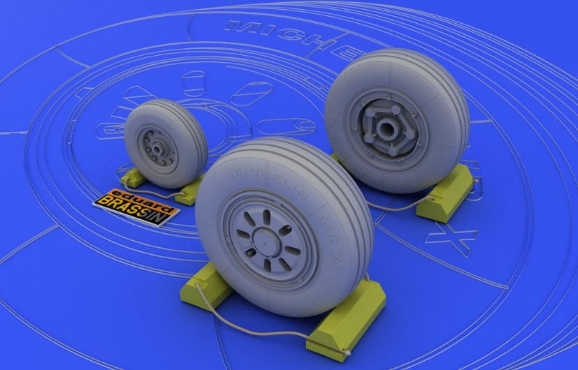Eduard 648003 1:48 F-22A Wheels for Academy Aircraft (Resin) This is an Eduard 648003 1:48 F-22A Wheels for Academy Aircraft (Resin). This is recommended for Italeri Kit. Products: Brassin, Type: Aircraft, Tags: Wheels, and Weight: 0.03 kg.Condition: Factory NewOperational Status: FunctionalThis item is brand new from the factory.Original Box: YesManufacturer: EduardModel Number: 648003MSRP: $9.95Category 1: AccessoriesCategory 2: OtherAvailability: Ships in 3 to 5 Business Days.The Trainz SKU for this item is P12019713. Track: 12019713 - FS - 001 - TrainzAuctionGroup00UNK - TDIDUNK