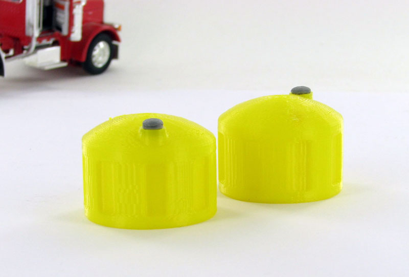 Bulk Fluid Tank - yellow 2 pack - ABS plastic - Made in the USA using 3D printer technology. Also available in White and AquaCondition: Factory NewOperational Status: FunctionalThis item is brand new from the factory.Original Box: YesManufacturer: 3D to ScaleModel Number: 50-325-YMSRP: $6.93Category 1: AccessoriesCategory 2: OtherAvailability: Ships in 3 to 5 Business Days.The Trainz SKU for this item is P12038223. Track: 12038223 - FS - 001 - TrainzAuctionGroup00UNK - TDIDUNK