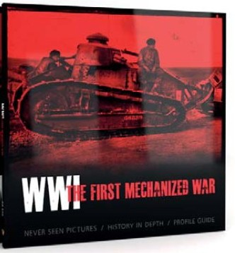 """AK Interactive 273 WWI The First Mechanized War Book This is an AK Interactive 273 WWI The First Mechanized War Book. The First World War was a subject neglected by most modellers until recently this could have been justified by lack of quality model kits; however there were enthusiasts interested in that topic and a lot of research was done by historians. Models of WWI vehicles got their second birth last year and now we have a range of good kits to choose from. The current book from AK-interactive is one of the first if not the very first book that appeals directly to scale modellers and not only enthusiasts of history and technology. """"The first mechanized war"""" aims high and has some very good offerings under the cover, although not without omissions as any other publication or products.Condition: Factory NewOperational Status: FunctionalThis item is brand new from the factory.Original Box: YesManufacturer: AK InteractiveModel Number: 273MSRP: $59.99Category 1: Books & MediaCategory 2: MilitaryAvailability: Ships in 3 to 5 Business Days.The Trainz SKU for this item is P12066473. Track: 12066473 - FS - 001 - TrainzAuctionGroup00UNK - TDIDUNK"""