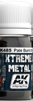 AK Interactive 485 Xtreme Metal Pale Burnt Metal Metallic Paint 30ml B