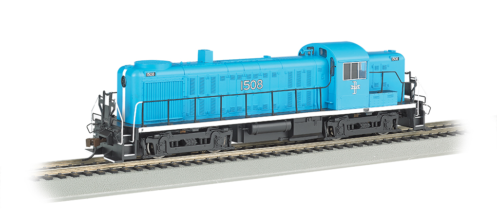Bachmann 68604 HO Boston & Maine RS-3 Diesel Locomotive with Bluetooth This is a Bachmann 68604 HO Scale Boston & Maine RS-3 with E-Z App #1508. It Features of E-Z App™ Touch-Screen Train Control include: wireless control with any Bluetooth® 4-supported iPhone®, iPad®, or iOS device (includes iPhone® 4s, 5, 5c, 5s, 6, and 6 Plus; iPad Air® and iPad mini™, 3rd and 4th generations; and iPod touch® 5 or newer) , operates from up to 100 feet away with Bluetooth® Smart technology, realistic, dynamic engine sound broadcast through your Bluetooth® 4-supported smart device,requires 16 volt DC or DCC track power for operation, ready to launch and use instantly after downloading the FREE Bachmann E-Z App™ from the Apple App Store, and no configuration or additional equipment required. Locomotive features: all-wheel drive,can motor,LED headlights,RP25 wheel contours,E-Z Mate® Mark II couplers, and Performs best on 18 radius curves or greater.Condition: Factory New (C-9All original; unused; factory rubs and evidence of handling, shipping and factory test run.Standards for all toy train related accessory items apply to the visual appearance of the item and do not consider the operating functionality of the equipment.Condition and Grading Standards are subjective, at best, and are intended to act as a guide. )Operational Status: FunctionalThis item is brand new from the factory.Original Box: Yes (P-9May have store stamps and price tags. Has inner liners.)Manufacturer: BachmannModel Number: 68604Road Name: Boston & MaineMSRP: $239.00Scale/Era: HO ModernModel Type: Diesel LocoAvailability: Ships in 1 Business Day!The Trainz SKU for this item is P12157780. Track: 12157780 - No Location Assigned - 001 - TrainzAuctionGroup00UNK - TDIDUNK