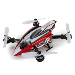BLADE 8980 Mach 25 FPV Racer BNF Basic This is BLADE 8980 Mach 25 FPV Racer BNF Basic. Features includes fully assembled, no building necessary. SAFE® technology makes FPV racing easy, multiple SAFE enabled flight modes. Spektrum™ AR636QR DSMX® quad-racing receiver with pressure sensor. Spektrum 25mw ultra micro FPV camera system (installed, Ham Radio License Required). Vibration-damping, carbon-fiber camera mount, powerful 2300Kv brushless outrunner motors. Compact Castle Creations 4-in-1 ESC, self-tightening hubs allow tool-free propeller replacement. Robust 2mm carbon-fiber frames with tough aluminum frame supports, canted motor mounts for faster acceleration and higher flight speeds. Intense, multi-color LED lighting system (installed). E-flite® 1350mAh 3S 11.1V Li-Po flight battery (included). Streamlined body designed by stylist Mirco Pecorari of Aircraft Studio Design.Condition: Factory NewOperational Status: FunctionalThis item is brand new from the factory.Original Box: YesManufacturer: BladeModel Number: 8980MSRP: $349.99Category 1: Other ToysCategory 2: Radio Control ToysAvailability: Ships in 1 Business Day!The Trainz SKU for this item is P12167045. Track: 12167045 - No Location Assigned - 001 - TrainzAuctionGroup00UNK - TDIDUNK