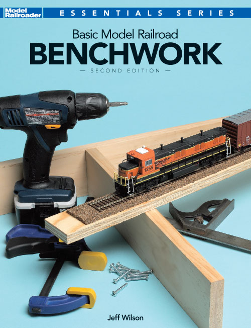 Kalmbach 12469 Basic ModelRailroading Benchwork, 2nd Edition This is Kalmbach 12469 Basic Model Railroading Benchwork, 2nd Edition. Jeff Wilson covers the full range of benchwork skills and materials from beginner shelf layouts to experienced modelers assembling a room-sized layout. New color photos and illustrations highlight liftout sections and swinging access gates.Condition: Factory NewOperational Status: FunctionalThis item is brand new from the factory.Original Box: YesManufacturer: KalmbachModel Number: 12469MSRP: $19.95Category 1: Books and MediaCategory 2: O Scale Books & MediaAvailability: Ships in 3 to 5 Business Days.The Trainz SKU for this item is P11643652. Track: 11643652 - FS - 001 - TrainzAuctionGroup00UNK - TDIDUNK