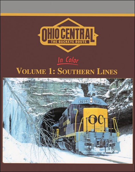 Morning Sun Books 1497 Ohio Central in Color This is Morning Sun Books 1497 Ohio Central in Color. Ohio Central In Color Volume 1: Southern Lines. Already a 'fallen flag', the Ohio Central set new standards for regional operation and traffic growth. Follow its development through the text of a former Ohio Central officer.Contents:The Ohio Central Story, pp. 4-5;Ohio-Rail Corp., pp. 6-7;Ohio Southern Railroad, pp. 8-17;The Ohio Central North to South, pp. 18-72;The C&OR East to West, pp. 73-118;Morgan Run Shop, pp. 119-127;The End...and a New Beginning, pg., 128Author: Michael J. ConnorHard cover with jacket128 pages8.5 x 11 x .5All color photographs with captionsCondition: Factory NewOperational Status: FunctionalThis item is brand new from the factory.Original Box: YesManufacturer: Morning Sun BooksModel Number: 1497MSRP: $59.95Category 1: Books and MediaCategory 2: RR HistoryAvailability: Ships in 3 to 5 Business Days.The Trainz SKU for this item is P11979874. Track: 11979874 - FS - 001 - TrainzAuctionGroup00UNK - TDIDUNK