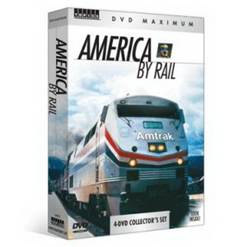TPS 60282 America By Rail 4 DVD Set See America by Railin a 4-DVD collection of scenic train films that explores the heart of the United States. Ride through scenic Colorado, enjoy the winter wonderland in Kentucky and West Virginia, travel the route from Chicago to Los Angeles, and take in the amazing vistas along the Potomac River. It's a steam-powered collection of history, heritage and scenery! Run Time: Approximately 5 hours and 30 minutes Product Features Ride the Luxurious American Orient Express Travel in vintage 1950s-era diesel locomotives Experience the Cumbres and Toltec steam railroad Take in incredible fall foliage along the Potomac River Step back in time on the Ft. Collins Municipal Railway's restored streetcar System RequirementsStandard definition DVD or Blu-ray playerCondition: Factory NewOperational Status: FunctionalThis item is brand new from the factory.Original Box: YesManufacturer: TPSModel Number: 60282MSRP: $19.99Category 1: Books and MediaCategory 2: Videos & DVDsAvailability: Ships in 3 to 5 Business Days.The Trainz SKU for this item is P11567710. Track: 11567710 - FS - 001 - TrainzAuctionGroup00UNK - TDIDUNK