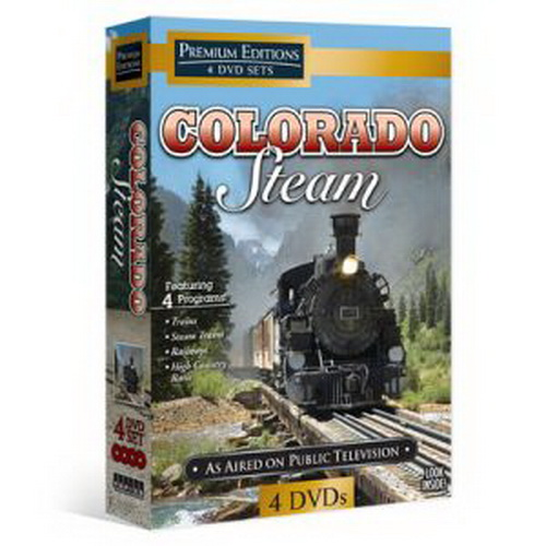 "Topics Entertainment 60432 Colorado Steam Trains 4 DVD Set Ride some of the most scenic railways in the world in Colorado Steam, a 4-DVD set of films that aired on public television. Hop aboard the powerful and majestic steamers that travel along the Durango & Silverton Narrow Gauge Railroad, the Georgetown Loop and more. Go inside the Durango & Silverton roundhouse and work on actual steam trains, meet the Galloping Goose #5 railbus on the Cumbres & Toltec and find out why the Colorado Live Steamers never grew up. The four 30-minute films include Trains and Railways, and Emmy Award-winners Steam Trains and High Country Rails. In Trains, see the restoration of the Durango & Silverton Narrow Gauge Railroad steam train, learn how to change a ""tire"" with the crew and hop aboard for gorgeous mountain views. Steam Trains takes you through glorious fall foliage with engineers from the Durango & Silverton Narrow Gauge Railroad. In Railways, travel the engineering marvel known as the Georgetown Loop Railroad through the picturesque Rocky Mountains. Then, take the Ski Train, no longer in operation, from downtown Denver up to the base of the Winter Park Ski Resort. High Country Rails takes you inside the Durango & Silverton Narrow Gauge Railroad roundhouse for a peek at how the shop maintains steam engines. Meet Galloping Goose #5 on the Cumbres & Toltec and find out why it is so important to Colorado's history.Run Time: Approximately 120 minutesProduct Features4 DVDs previously aired on public television!See the world famous Durango & Silverton Narrow Gauge RailroadBeautiful scenery, from rocky high deserts to snowy mountainsRide the Ski Train from downtown Denver to Winter Park Ski ResortGo inside the Durango & Silverton roundhouse and work on actual stream trainsFilms include the Emmy AwCondition: Factory NewOperational Status: FunctionalThis item is brand new from the factory.Original Box: YesModel Number: 60432MSRP: $24.99Category 1"