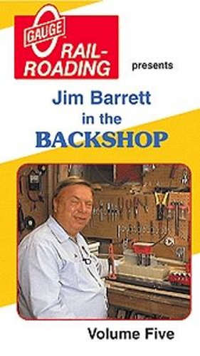 OGR 1002 Jim Barrett in the Backshop Vol. 5 VHS Lionel expert Jim Barrett shares his skills and expertise in repairing and restoring many facets of you model railroad. This video shows you how to install a diesel electronic E-Unit, install a steam electric E-Unit, and Maintaining a Lionel #342 Culvert Loader and the #345 Culvert Unloader.Condition: Factory NewOperational Status: FunctionalThis item is brand new from the factory.Original Box: YesManufacturer: OGRModel Number: 1002Years Manufactured: ???? - 2004MSRP: $19.95Category 1: Books and MediaCategory 2: Videos & DVDsAvailability: Ships in 3 to 5 Business Days.The Trainz SKU for this item is P11548351. Track: 11548351 - FS - 001 - TrainzAuctionGroup00UNK - TDIDUNK