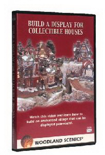 Woodland Scenics CH1055 Collectible House DVD Create the magic through this step-by-step, detailed video. It teaches you how to build a display for your collectible houses in less than two days: the Woodland Scenics way. The video includes various tips, techniques, ideas and instructions for each product. These Woodland Scenics products are so simple to use that anyone can do it. Approximately 60 minutes. Also available in VHS formatCondition: Factory NewOperational Status: FunctionalThis item is brand new from the factory.Original Box: YesManufacturer: Woodland ScenicsModel Number: CH1055MSRP: $19.99Category 1: Books and MediaCategory 2: Videos & DVDsAvailability: Ships in 3 to 5 Business Days.The Trainz SKU for this item is P11542348. Track: 11542348 - FS - 001 - TrainzAuctionGroup00UNK - TDIDUNK