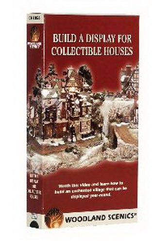 Woodland Scenics CH1056 Build Collectible Display Houses-VHS Create the magic through this step-by-step, detailed video. It teaches you how to build a display for your collectible houses in less than two days: the Woodland Scenics way. The video includes various tips, techniques, ideas and instructions for each product. These Woodland Scenics products are so simple to use that anyone can do it. Approximately 60 minutes. Also available in DVD formatCondition: Factory NewOperational Status: FunctionalThis item is brand new from the factory.Original Box: YesManufacturer: Woodland ScenicsModel Number: CH1056MSRP: $19.99Category 1: Books and MediaCategory 2: Videos & DVDsAvailability: Ships in 3 to 5 Business Days.The Trainz SKU for this item is P11542349. Track: 11542349 - FS - 001 - TrainzAuctionGroup00UNK - TDIDUNK